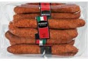 10 Sticks of Margherita Pepperoni (1/2 case) A spicy, robust orange and reddish colored dry sausage. (The best pepperoni) Includes shipping $39.99.