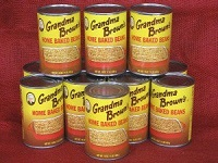 6-16 oz. cans - Grandma Brown's Baked Beans **$24.99 Includes shipping. Central New York's favorite baked beans, Grandma Browns Baked Beans are just as hearty and delicious as they have been for years. Hailing from Mexico, NY, these are the baked beans you grew up with and have come to love. Enjoy them at bar-b-ques or holiday meals. Either way, they're sure to be a mouth-watering hit.