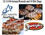 Zweigle's Hots and A & G Burgers $79.00 SHIPPING INCLUDED